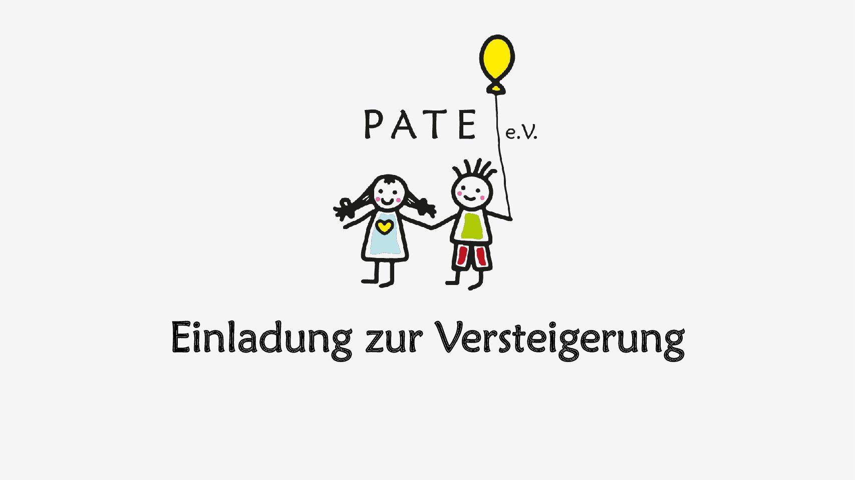 Versteigerung von Pflanzen und Deko für PATE e.V.