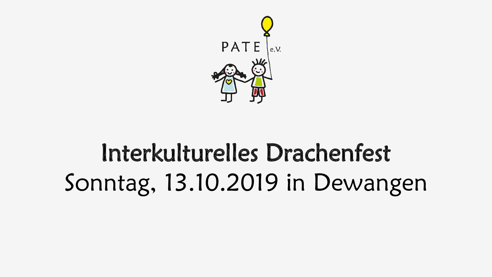 Interkulturelles Drachenfest in Dewangen
