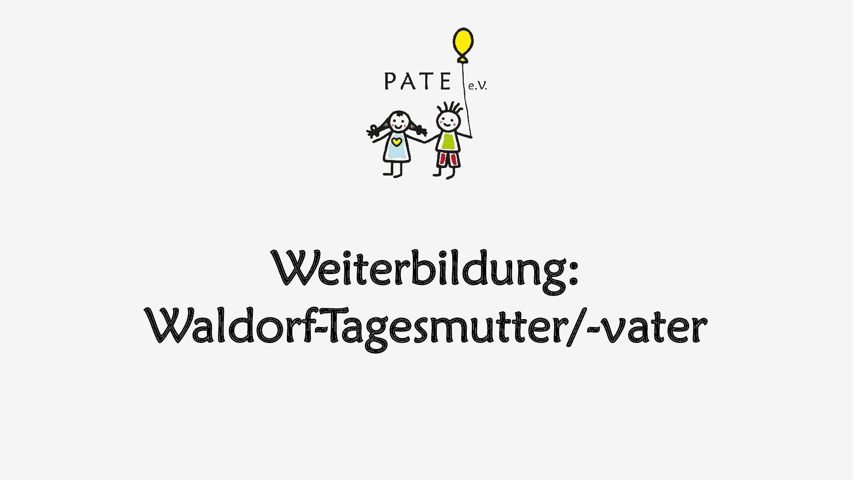 Weiterbildung: Waldorf-Tagesmutter/-vater