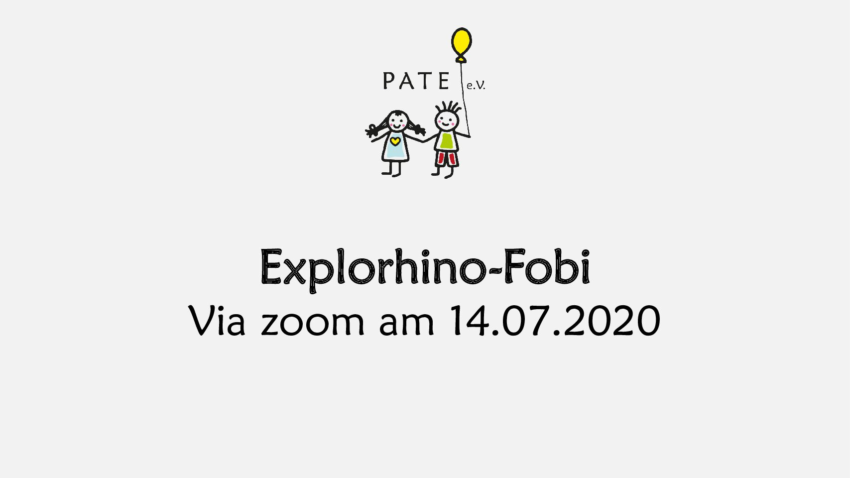 Explorhino-Fortbildung am 14.07.2020