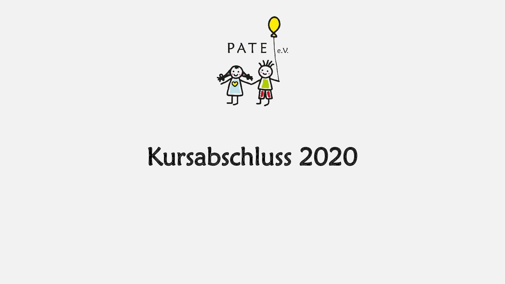 Kursabschluss 2020