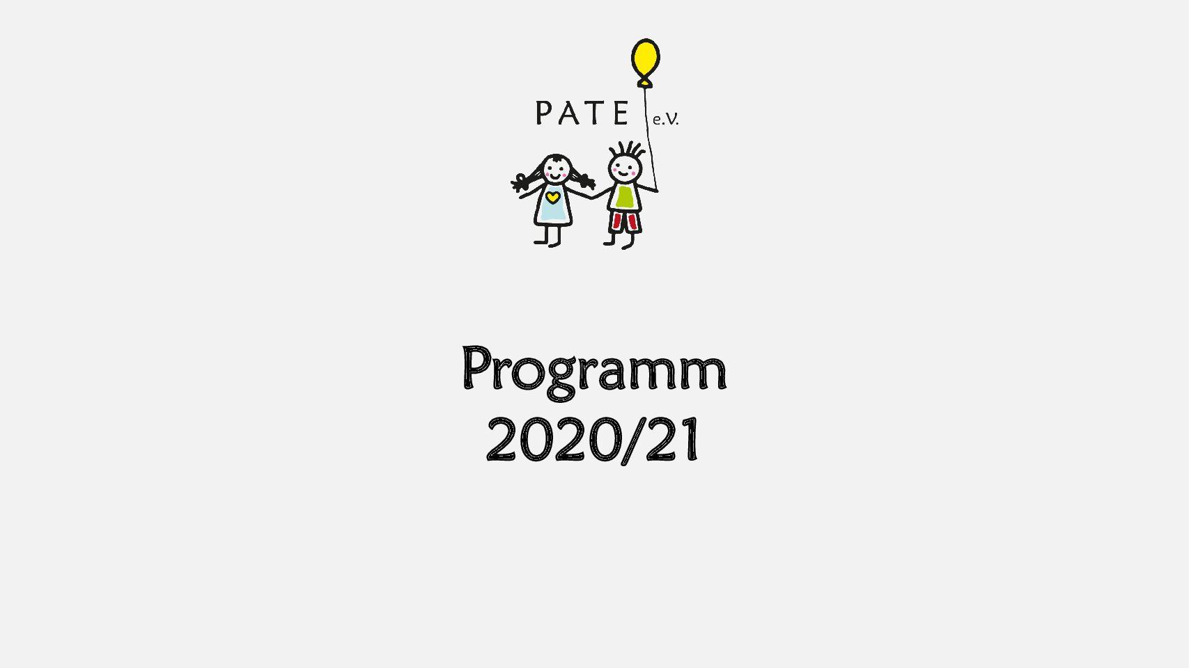 Ankündigung Programm 2020/21