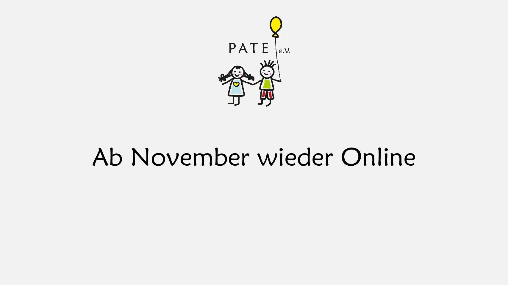 Kurse und Fortbildungen ab November wieder online